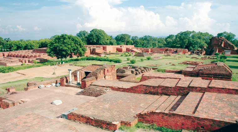 The ruins of Nalanda in Bihar. (Source: Paras Nath photo)