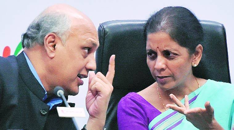 Nirmala Sitharaman, Commerce Ministry, Nirmala Sitharaman, Sidharth Birla, Ficci, foreign portfolio, FPI, FPI, FPI investment, foreign investment, foreign investment defence sector, defence sector FDI, foreign investment defence, Indian express