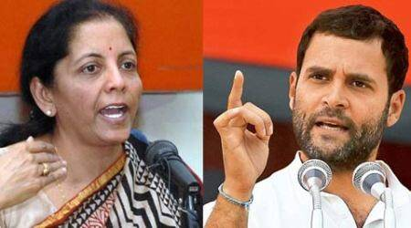Rahul gandhi, nirmala seetharaman, rahul nirmala, rahul gandhi news, rahul gandhi congress, rahul gandhi farmers, rahul gandhi farmers suicide, congress news, india news, latest news