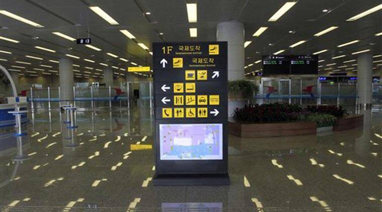 Pyongyang International Airport, North Korea airport, North Korea airport terminal, New Airport terminal. New terminal, Showcase terminal, Koryo Air, Kim Jong-Il, North Korea leader, Pyongyang news, North Korea news, Asia news, World news, International news