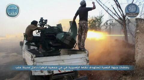 Al-Qaida attacks headquarters of US-backed Syrian rebels