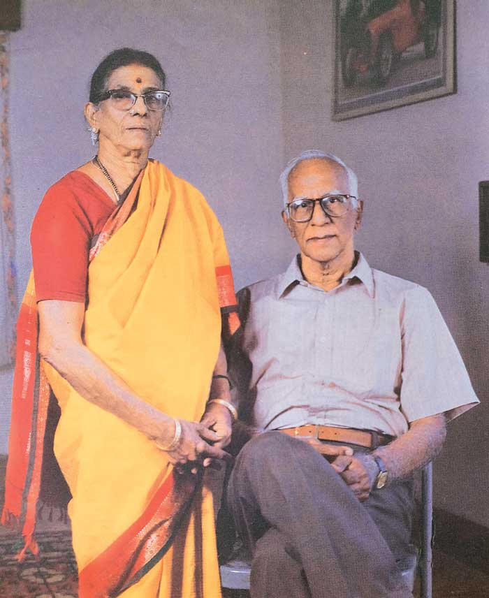 Muthuswamy and his wife
