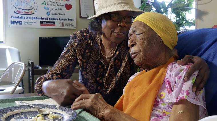 World's oldest person, Susannah Mushatt Jones, World's oldest person Susannah Mushatt Jones, World's oldest person Guinness World Records, US Susannah Mushatt Jones, World's oldest person US, trending story, trending news, world news, US news, indian express news