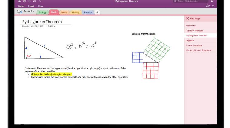 how to send onenote 2016 to onenote 365