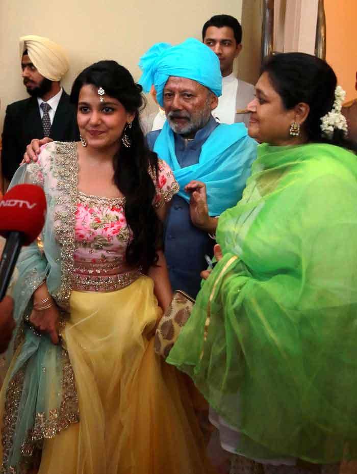 Shahid Kapoor, Mira Rajput, Pankaj Kapur, Shahid Mira wedding