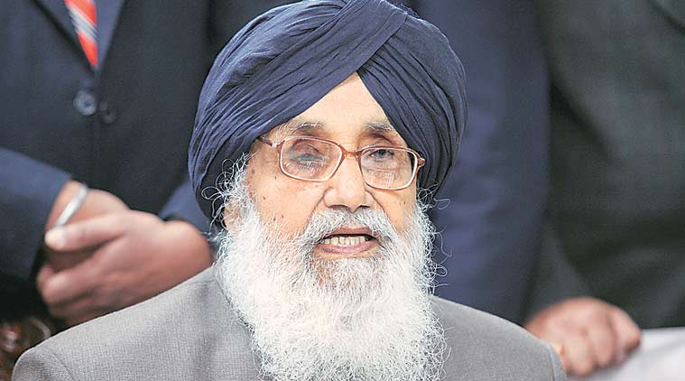 Parkash Singh  badal, water sharingm water issue, punjab water issue, SAD, chandigarh news