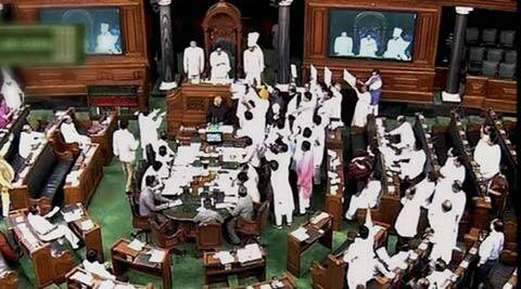 Parliament logjam: All-party meet fails; Congress sticks to resignations before debate