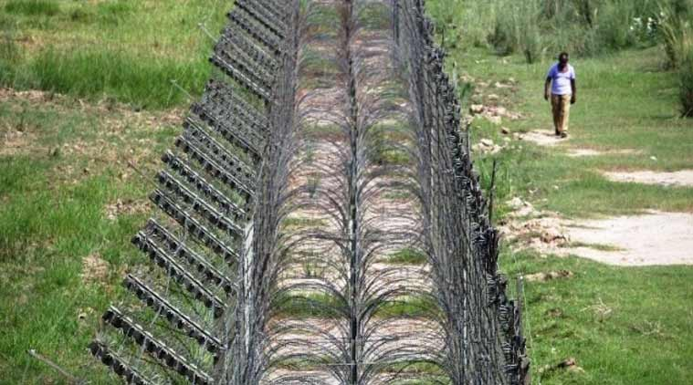 A file photo of the Line of Control between Pakistan and India. (Source: Reuters photo)