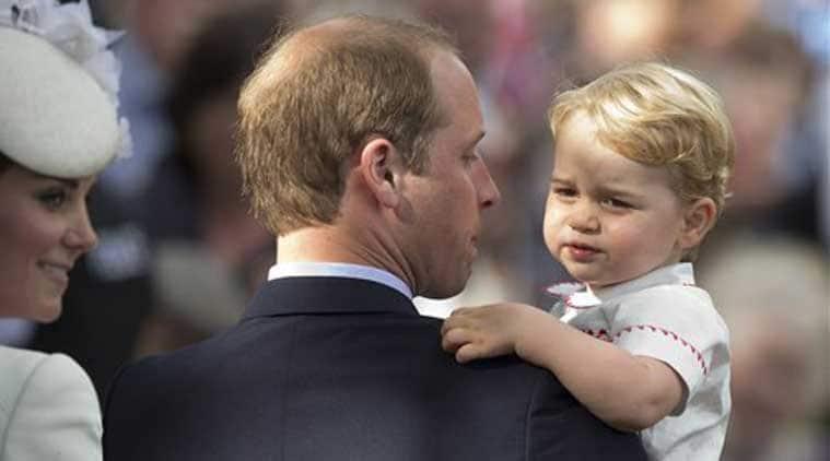 Birthday boy Prince George celebrates his second birthday