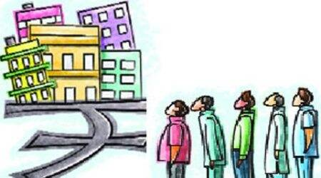 unsold homes, Knight Frank, unsold property, real estate consultants, property in Ahmedabad, Ahmedabad houses, Ahmedabad news