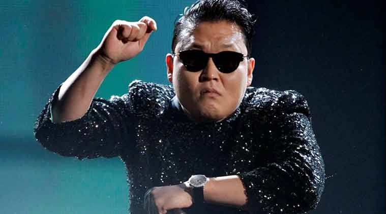 South Korean singer Psy's Rolls Royce collided with a bus at a crossing in China, leaving the front of his vehicle visibly damaged. (Source: Reuters)