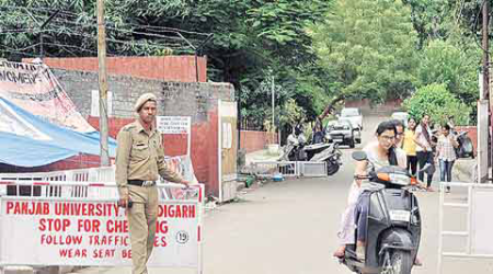 Stricter security measures on PU campus: After 7 pm, gates outside girls' hostels to bebarricaded