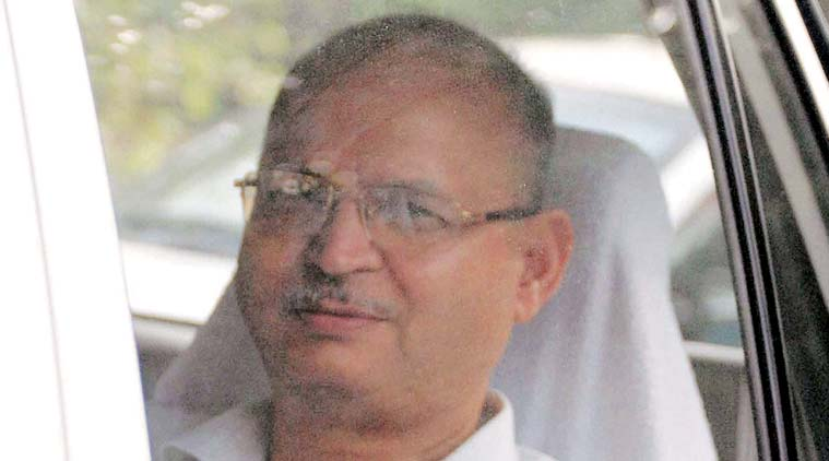 CBI Joint Director R P Agarwal arrives at CBI office in Bhopal on Monday. (Source: PTI photo)