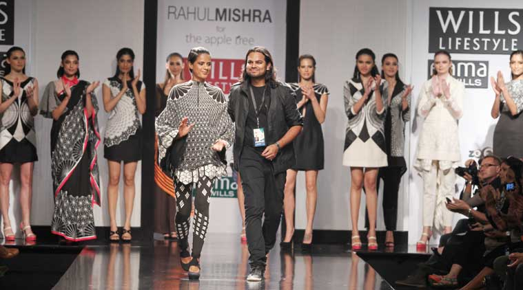 Rahul Mishra To Present A Glimpse Of Paris At Aifw Spring Summer 2016 Lifestyle News The Indian Express