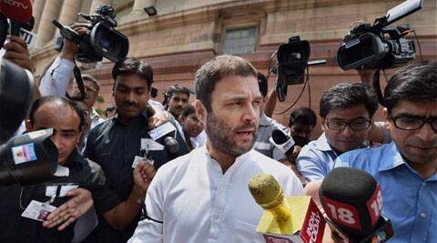 To boost morale of workers, Congress seeks Rahul's appointment