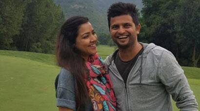 Suresh Raina out on another holiday with wife Priyanka