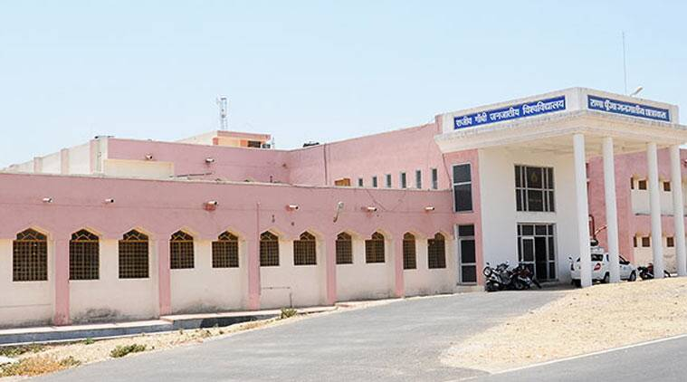 rajiv gandhi tribal university, rajasthan tribal university, rajiv gandhi tribal university udaipur, ghelot tribal university, vasundhara raje, ashok ghelot, education news, rajasthan university news, rajasthan news, india news