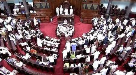 KG basin, opposition protest, Congress, Rajya Sabha, RS, RS adjournment, india news,