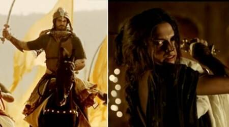 Of swords and battles - Deepika Padukone, Ranveer Singh in 'Bajirao Mastani' trailer