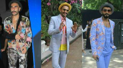 Ranveer Singh turns 30 - Check out his quirky style file
