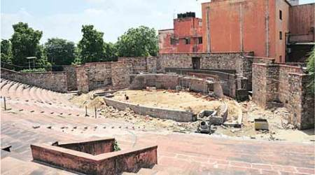 Petition in court challenging renovation of RavindraManch
