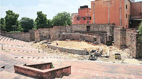 rajasthan ravindra manch, Ravindra Manch amphitheatre, rajasthan ravindra manch, rajasthan ravindra amphitheatre, ravindra manch renovation, IPTA, Rajasthan court, Indian People's Theatre Association, Rabindranath Tagore 150 birth anniversary, Rajasthan news, Jaipur news, loacal news, city news, india news, indian express, latest news