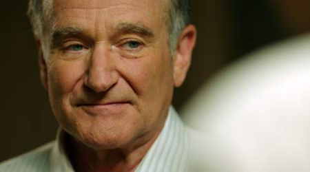 Robin Williams' son still grieving his death