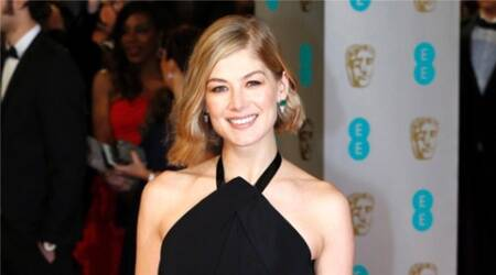 Rosamund Pike, high Wire Act, Rosamund Pike high Wire Act, Rosamund Pike Movies, Actress Rosamund Pike, Rosamund Pike Gone Girl, Rosamund Pike in High Wire Act, Entertainment news