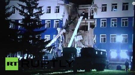 Russia, russia barracks collapse, russia military barracks, russia building collapse, russia military barracks collapse, russia military building collapse, russia news, europe news, vladimir putin, world news, indian express