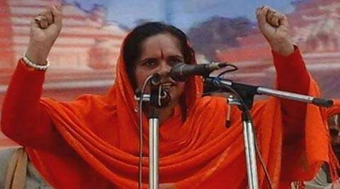 VHP leader Sadhvi Prachi denied entry into Bisara