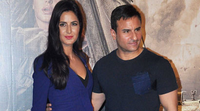 Katrina Kaif, Saif Ali Khan launch 'Phantom' trailer