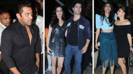Salman, Sonam, Kangana and a bevy of Bollywood stars attend Varun, Shraddha's 'ABCD 2' success bash