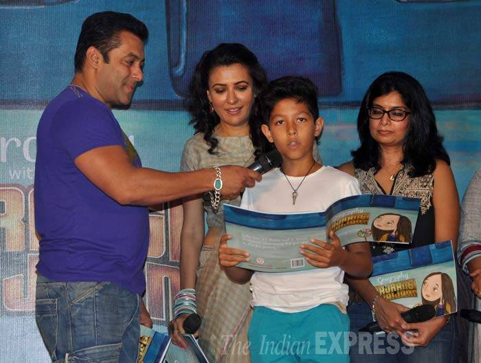 Salman Khan, Mini Mathur