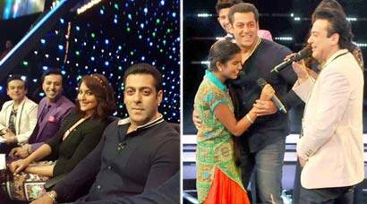 Salman Khan dances and takes selfies with kids on 'Indian Idol Jr'