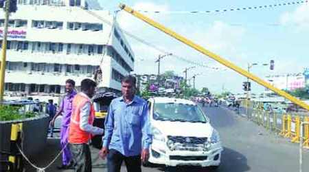 Now, hospital controls traffic, civic body, cops look on