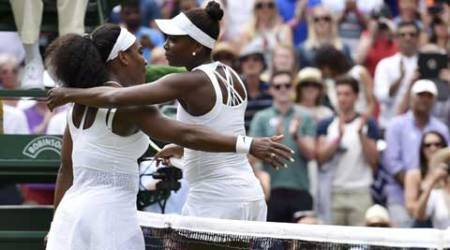 Serena downs sister Venus to seal quarters berth