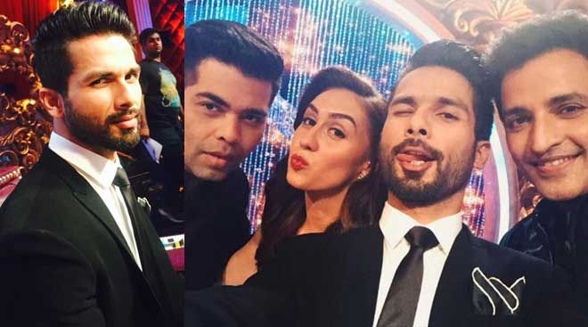 Shahid is the coolest judge: First day at 'Jhalak' sets