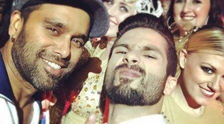 Clicked: Shahid Kapoor is done with his 'Jhalak' opening act
