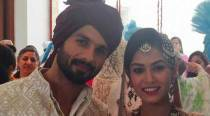Presenting for the first time: Newlyweds Shahid Kapoor, Mira Rajput