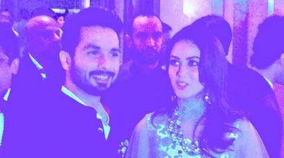 Inside Shahid Kapoor, Mira Rajput's royal reception in Gurgaon