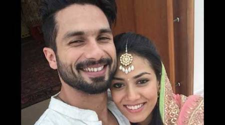 Shahid Kapoor posts first selfie with wife Mira Rajput