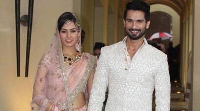 PHOTOS: Meet newlyweds Shahid Kapoor and Mira Rajput Kapoor, first pics of the bridal couple