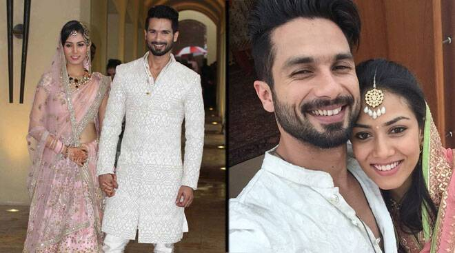 Meet newlyweds Shahid Kapoor and Mira Rajput Kapoor, first pics of the bridal couple