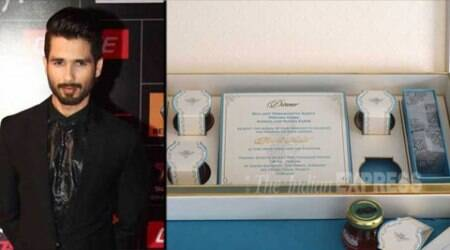 Shahid's wedding card: More details in an exclusive conversation with designer Ravish Kapoor