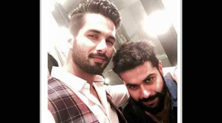 Designer Kunal Rawal working hard for Shahid Kapoor's wedding outfit