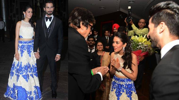 shahid kapoor mira rajput s mumbai wedding reception was a star studded affair the indian express