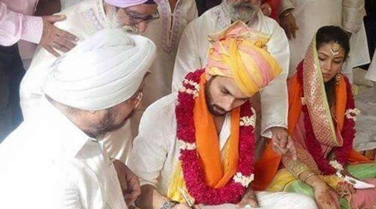 Shahid Kapoor Mira Rajput S Simple Gurduwara Wedding