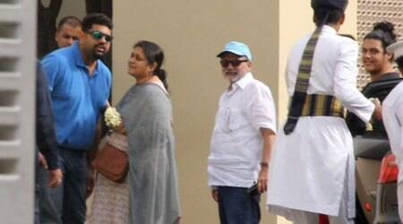 Shahid Kapoor's family, relatives arrive in New Delhi for the wedding