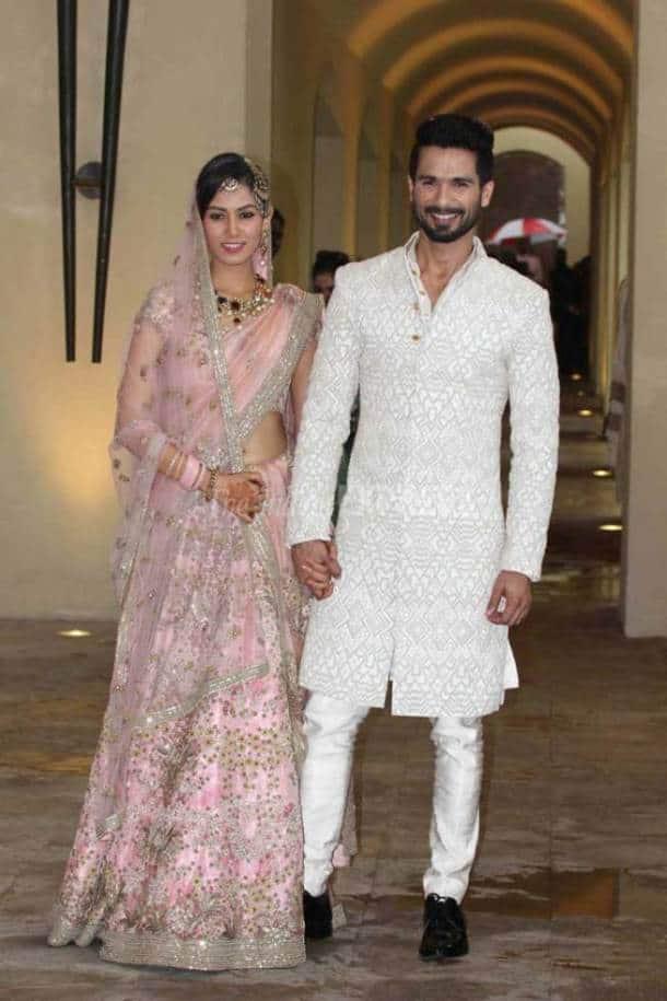 Shahid Kapoor, Mira Rajput, Shahid Mira wedding