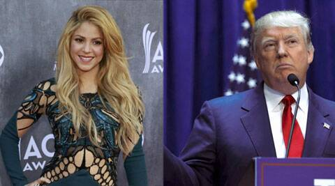 shakira, donald trump, singer shakira, shakira donald trump, shakira twitter, entertainment news